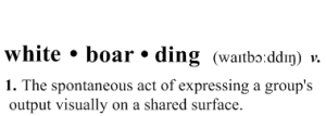 Whiteboarding software